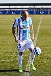 Martin Braithwaite during his presentation as a CD Leganes' football player at Instalacion Deportiva Butarque in Leganes, Spain. January 03, 2019. (ALTERPHOTOS/A. Perez Meca) (ALTERPHOTOS/A. Perez Meca)