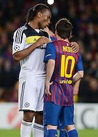 Fussball Uefa Champions League 2011/12, Halbfinale: FC Barcelona - FC Chelsea