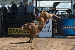 4114 TNT of Tyler Terrell during the American Bucking Bull, Incorporated event in Decatur, TX - 6.3.2016. Photo by Christopher Thompson