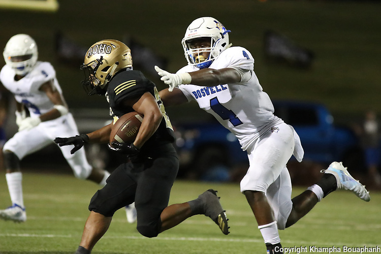 Boswell loses to Wichita Falls Rider 31-17 at Memorial Stadium in Wichita Falls on Friday, September 1, 2018. (Photo by Khampha Bouaphanh)