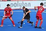Stephen Jenness during the Pro League Hockey match between the Blacksticks men and Belgium, National Hockey Arena, Auckland, New Zealand, Sunday 2 February 2020. Photo: Simon Watts/www.bwmedia.co.nz