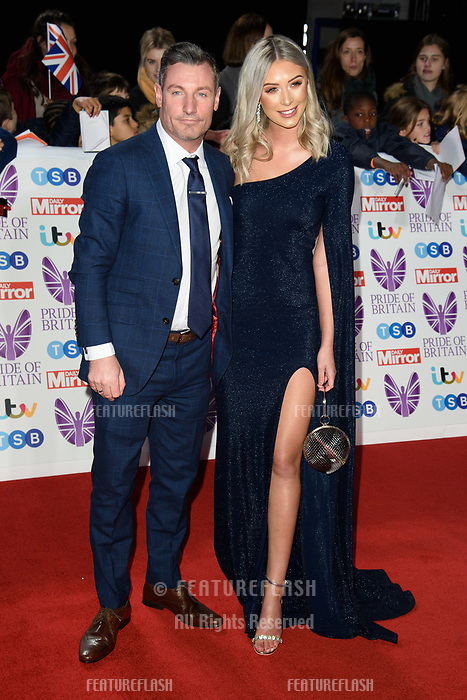 LONDON, UK. October 29, 2018: Dean Gaffney at the Pride of Britain Awards 2018 at the Grosvenor House Hotel, London.<br /> Picture: Steve Vas/Featureflash