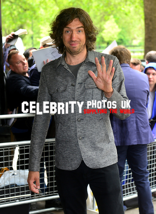 Gary Lightbody at the Ivor Novello Awards at the Grosvenor House Hotel, Park Lane, London on May 19th 2016