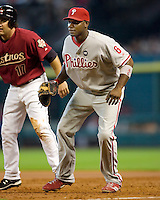 Howard, Ryan 5685.jpg Philadelphia Phillies at Houston Astros. Major League Baseball. September 6th, 2009 at Minute Maid Park in Houston, Texas. Photo by Andrew Woolley.