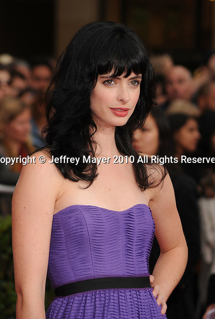 "HOLLYWOOD, CA. - May 17: Krysten Ritter arrives at the ""Prince of Persia: The Sands of Time"" Los Angeles Premiere held at Grauman's Chinese Theatre on May 17, 2010 in Hollywood, California."