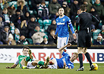 Ross McCrorie tackles John McGinn