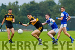 Tony Brosnan, Dr Crokes, in action against Sean Collins, Kerins O'Rahillys, in the Kerry Petroleum Senior Club Championship Group 1 Round 2 at Lewis riad, Killarney on Saturday evening.