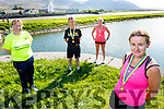 Launching the  virtual fundraising runfor the Kerry Hospice in Blennerville on Tuesday. Front: Anne Kelliher    Back l to r: Andrea O'Donoghue, Tommy Horan and Michelle Greaney