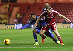 Jacques Maghoma of Birmingham City tussels with Grant Leadbetter of Middlesbrough - Sky Bet Championship - Middlesbrough vs Birmingham City - Riverside Stadium - Middlesbrough - England - 12th of December 2015 - Picture Jamie Tyerman/Sportimage
