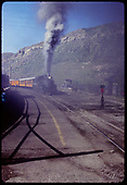 D&amp;RGW #473 K-28 with excursion train leaving Durango.<br /> D&amp;RGW  Durango, CO
