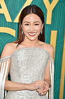HOLLYWOOD, CA - AUGUST 07: Constance Wu arrives at the Warner Bros. Pictures' 'Crazy Rich Asians' premiere at the TCL Chinese Theatre IMAX on August 7, 2018 in Hollywood, California.<br /> CAP/ROT/TM<br /> &copy;TM/ROT/Capital Pictures