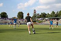 Cary, North Carolina  - Saturday July 13, 2019: North Carolina Courage vs Reign FC at Sahlen's Stadium at WakeMed Soccer Park.