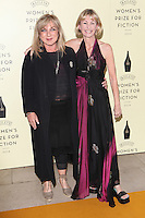 Kate Mosse and Helen Lederer  arriving for the Baileys Women's Prize for Fiction Awards, at the Royal Festival Hall, London. 04/06/2014 Picture by: Alexandra Glen / Featureflash