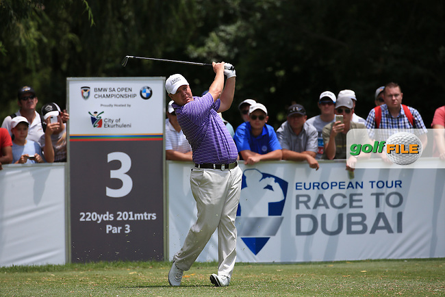 Ross McGowan (ENG) in action during Round Three of the 2016 BMW SA Open hosted by City of Ekurhuleni, played at the Glendower Golf Club, Gauteng, Johannesburg, South Africa.  09/01/2016. Picture: Golffile | David Lloyd<br /> <br /> All photos usage must carry mandatory copyright credit (&copy; Golffile | David Lloyd)