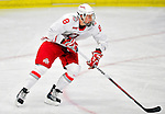 2 January 2011: Ohio State University Buckeye defenseman Curtis Gedig, a Freshman from  West Kelowna, British Columbia, in action against the Army Black Knights at Gutterson Fieldhouse in Burlington, Vermont. The Buckeyes defeated the Black Knights 5-3 to win the 2010-2011 Catamount Cup. Mandatory Credit: Ed Wolfstein Photo