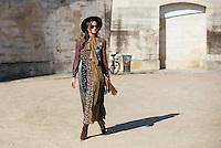 Danielle Bernstein at Paris Fashion Week (Photo by Hunter Abrams/Guest of a Guest)