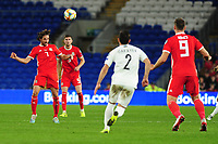 Joe Allen of Wales in action during the UEFA Euro 2020 Qualifier match between Wales and Azerbaijan at the Cardiff City Stadium in Cardiff, Wales, UK. Friday 06, September 2019