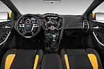2013 Ford Focus ST Hatchback Straight dashboard view