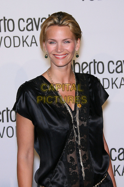 NATASHA HENSTRIDGE.Roberto Cavalli Vodka Launch Party held at a private residence, Holmby Hills, California, USA..May 11th, 2006.Photo: Zach Lipp/AdMedia/Capital Pictures.Ref: ZL/ADM.half length black .www.capitalpictures.com.sales@capitalpictures.com.© Capital Pictures.