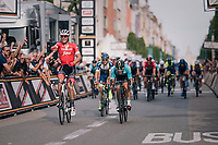 Jasper Stuyven (BEL/Trek-Segafredo) sprints to an emotional hometown win in Leuven (BEL)<br /> <br /> 52nd GP Jef Scherens - Rondom Leuven 2018 (1.HC)<br /> 1 Day Race: Leuven to Leuven (186km/BEL)