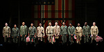 """Blair Underwood, David Alan Grier and Jerry O'Connell with the cast During the Broadway Opening Night Curtain Call Bows for The Roundabout Theatre Company's """"A Soldier's Play""""  at the American Airlines Theatre on January 21, 2020 in New York City."""