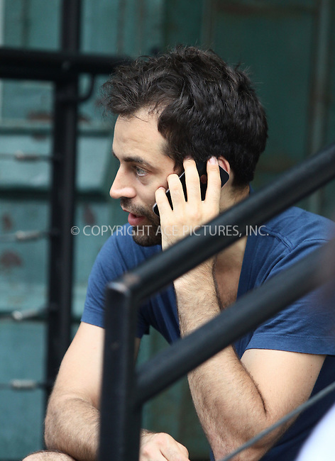 WWW.ACEPIXS.COM . . . . .  ....Exclusive - all rounder....NYC Principal dancer Benjamin Millepied, who's fiance Natalie Portman recently gave birth to a baby boy, seen walking around his Tribeca neighborhood on June 21 2011 in New York City....Please byline: CURTIS MEANS - ACE PICTURES.... *** ***..Ace Pictures, Inc:  ..Philip Vaughan (212) 243-8787 or (646) 679 0430..e-mail: info@acepixs.com..web: http://www.acepixs.com