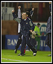 23/11/2002                   Copyright Pic : James Stewart.File Name : stewart-dundee v utd21.JIM DUFFY CELEBRATES AT THE END OF THE GAME....Payments to :-.James Stewart Photo Agency, 19 Carronlea Drive, Falkirk. FK2 8DN      Vat Reg No. 607 6932 25.Office     : +44 (0)1324 570906     .Mobile  : +44 (0)7721 416997.Fax         :  +44 (0)1324 570906.E-mail  :  jim@jspa.co.uk.If you require further information then contact Jim Stewart on any of the numbers above.........