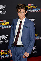 Ty Simpkins at the premiere for &quot;Thor: Ragnarok&quot; at the El Capitan Theatre, Los Angeles, USA 10 October  2017<br /> Picture: Paul Smith/Featureflash/SilverHub 0208 004 5359 sales@silverhubmedia.com