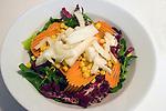 Vegetable Salad, Gina Restaurant, Rome, Italy, Europe