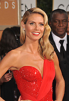 Heid Klum at the 72nd Annual Golden Globe Awards at the Beverly Hilton Hotel, Beverly Hills.<br /> January 11, 2015  Beverly Hills, CA<br /> Picture: Paul Smith / Featureflash