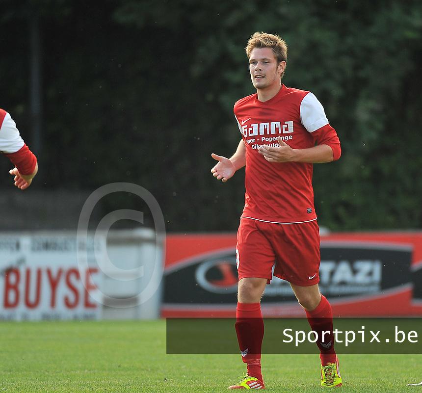 FC Langemark : Sven Casteleyn<br /> foto VDB / Bart Vandenbroucke