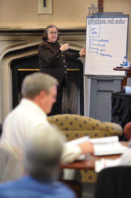 Nonprofit Executive Leadership conference, March 9 thru 11 2009...Photo by Matt Cashore/University of Notre Dame