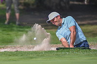 Francesco Molinari (ITA) hits from the trap on 1 during round 3 of the World Golf Championships, Mexico, Club De Golf Chapultepec, Mexico City, Mexico. 3/3/2018.<br /> Picture: Golffile | Ken Murray<br /> <br /> <br /> All photo usage must carry mandatory copyright credit (&copy; Golffile | Ken Murray)