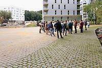 Visite du chantier le 15 septembre 2012