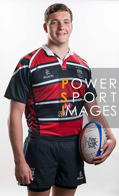 Hong Kong Junior Squad team member Fin Field poses during the Official Photo Session Day at King's Park Sports Ground ahead the Junior World Rugby Tournament on 25 March 2014. Photo by Andy Jones / Power Sport Images