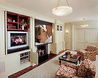 Multi Use Room With Multiple Displays