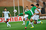 Uzbekistan vs Iraq during the Olympic Qualifying 2012 Group B stage match on September 21, 2011 at the JAR Stadium in Tashkent, Uzbekistan. Photo by World Sport Group
