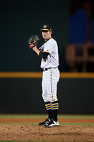 Bradenton Marauders relief pitcher Brandon Cumpton (54) gets ready to deliver a pitch during the second game of a doubleheader against the Tampa Yankees on June 14, 2017 at LECOM Park in Bradenton, Florida.  Tampa defeated Bradenton 5-1.  (Mike Janes/Four Seam Images)