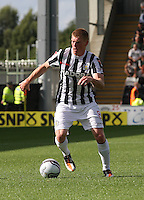 Jon Robertson in the St Mirren v Hibernian Clydesdale Bank Scottish Premier League match played at St Mirren Park, Paisley on 18.8.12.