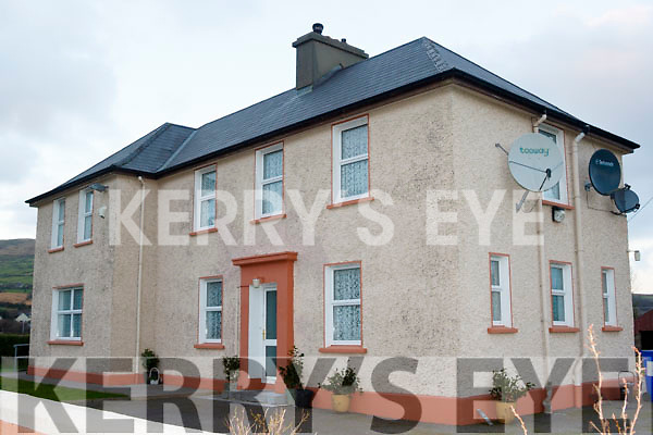 The former Garda station in Cloghane village.
