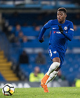 Daishawn Redan of Chelsea U18 during the FA Youth Cup FINAL 1st leg match between Chelsea U18 and Arsenal U18 at Stamford Bridge, London, England on 27 April 2018. Photo by Andy Rowland.