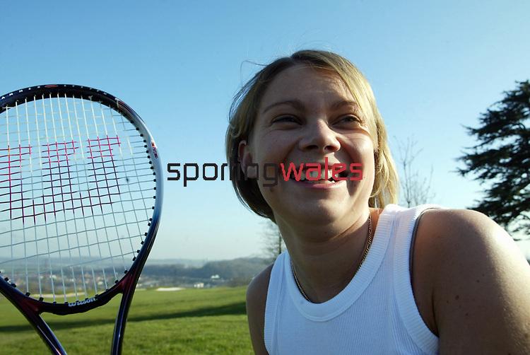 Female Tennis<br /> ©Steve Pope <br /> Sportingwales