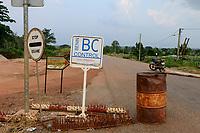 TOGO, Tohoun, border station Togo and Benin,  Benin side