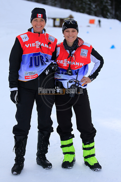 VIP during the FIS Ski World Cup 1.3 Km Sprint Free finals, on February 2, 2014 in Dobbiaco, Toblach. <br /> <br /> &copy; Pierre Teyssot