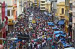Comércio na Rua 25 de Março. São Paulo. 2015. Foto de Daniel Cymbalista.