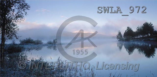Carl, LANDSCAPES, panoramic, photos, lake, fog(SWLA972,#L#)