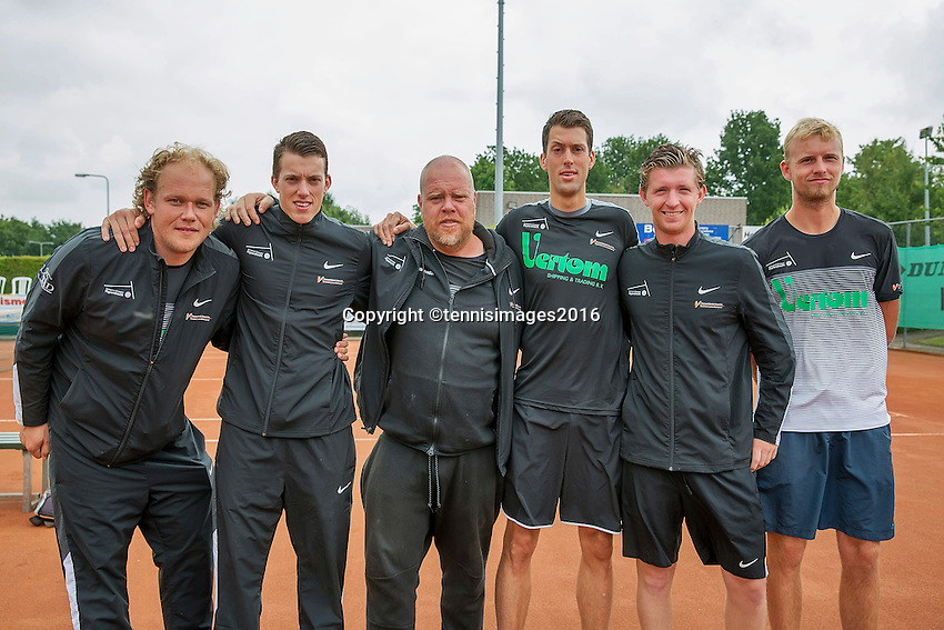 Simpeled, Netherlands, 19 June, 2016, Tennis, Playoffs Eredivisie Men, Presentatien teams, Team Top Papendrecht<br /> Photo: Henk Koster/tennisimages.com