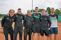 Simpeled, Netherlands, 19 June, 2016, Tennis, Playoffs Eredivisie Men, Presentatien teams, Team Top Papendrecht<br /> Photo: Henk Koster/tennisimages.com
