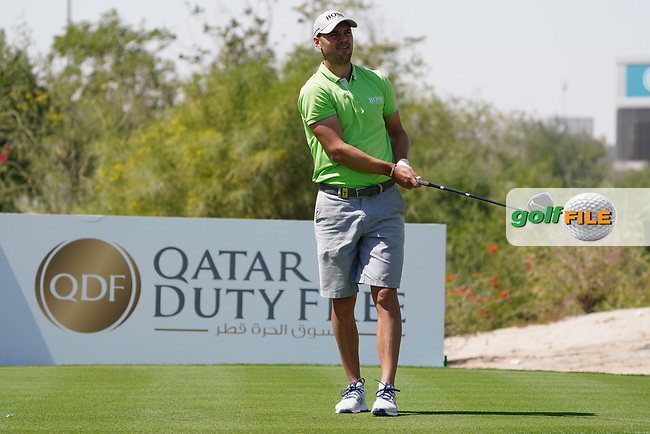 Martin Kaymer (GER) on the 2nd during the Pro-Am of the Commercial Bank Qatar Masters 2020 at the Education City Golf Club, Doha, Qatar . 04/03/2020<br /> Picture: Golffile | Thos Caffrey<br /> <br /> <br /> All photo usage must carry mandatory copyright credit (© Golffile | Thos Caffrey)