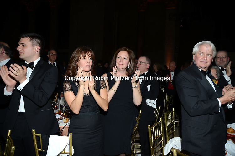 The crowd attend the 2013 National Book Awards Dinner and Ceremony on November 20, 2013 at Cipriani Wall Street in New York City.